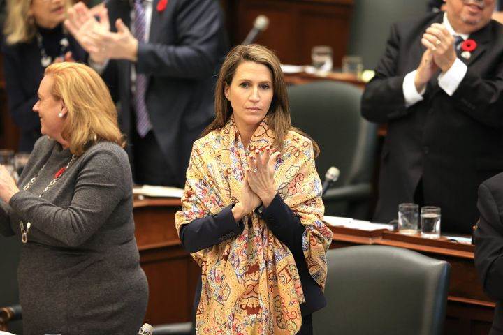 Attorney General Caroline Mulroney at Queen's Park in Toronto Oct. 30, 2019. She's overseen the cut of Legal Aid Ontario's budget by 30 per cent.