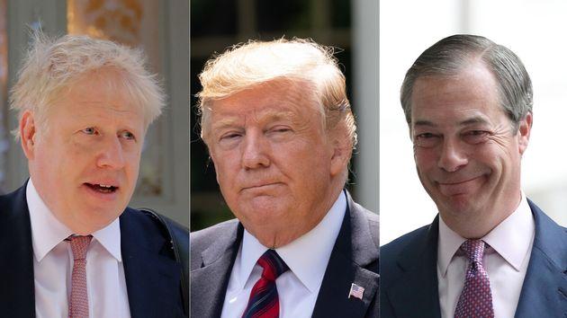 Trump Says: Boris Johnson And Nigel Farage Are 'Friends Of