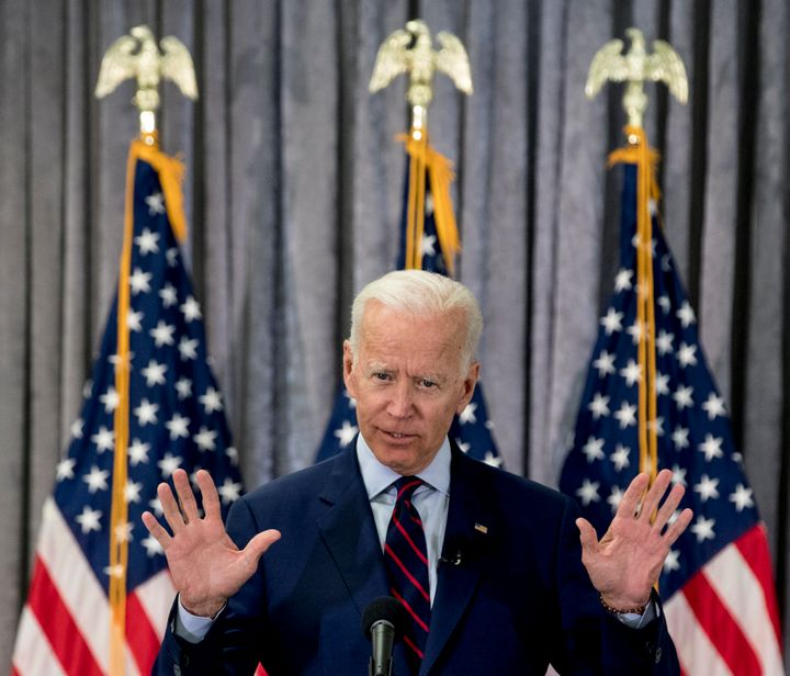 """As a 2020 presidential candidate, Joe Biden likes to tell audiences that """"this is not your father's Republican Party."""""""