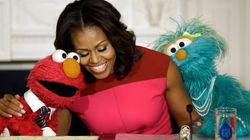 Michelle Obama Shares The Sweetest Tribute To 'Sesame