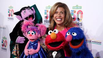 NEW YORK, NEW YORK - MAY 29: Hoda Kotb attends Sesame Workshop's 50th Anniversary Benefit Gala at Cipriani Wall Street on May 29, 2019 in New York City. (Photo by John Lamparski/WireImage,)