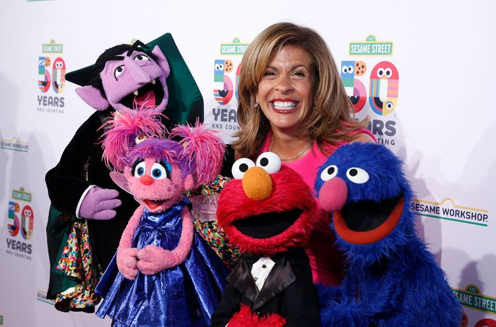 Kotb hosted Sesame Workshop's 50th Anniversary Benefit Gala in New York on Wednesday.