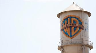 The Warner Bros. Entertainment Inc. studios' water tank in Burbank, California, U.S., July 5, 2017.   REUTERS/Mario Anzuoni