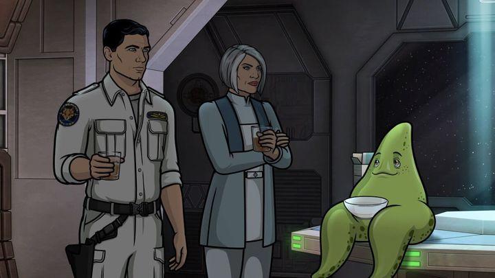 """""""Archer: 1999"""" on FXX."""