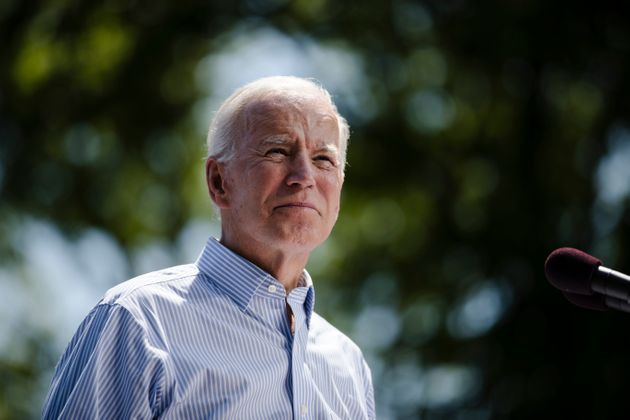Democratic presidential candidate and former Vice President Joe Biden earned a D-minus climate rating...