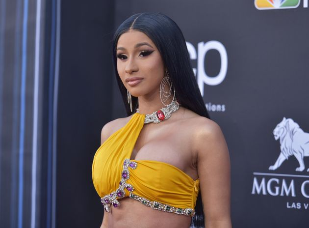 Cardi B arrives at the Billboard Music Awards on May 1 at the MGM Grand Garden Arena in Las