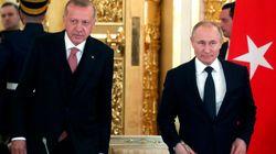 Ερντογάν σε Πούτιν: Η κατάπαυση πυρός στην Ιντλίμπ της Συρίας πρέπει να
