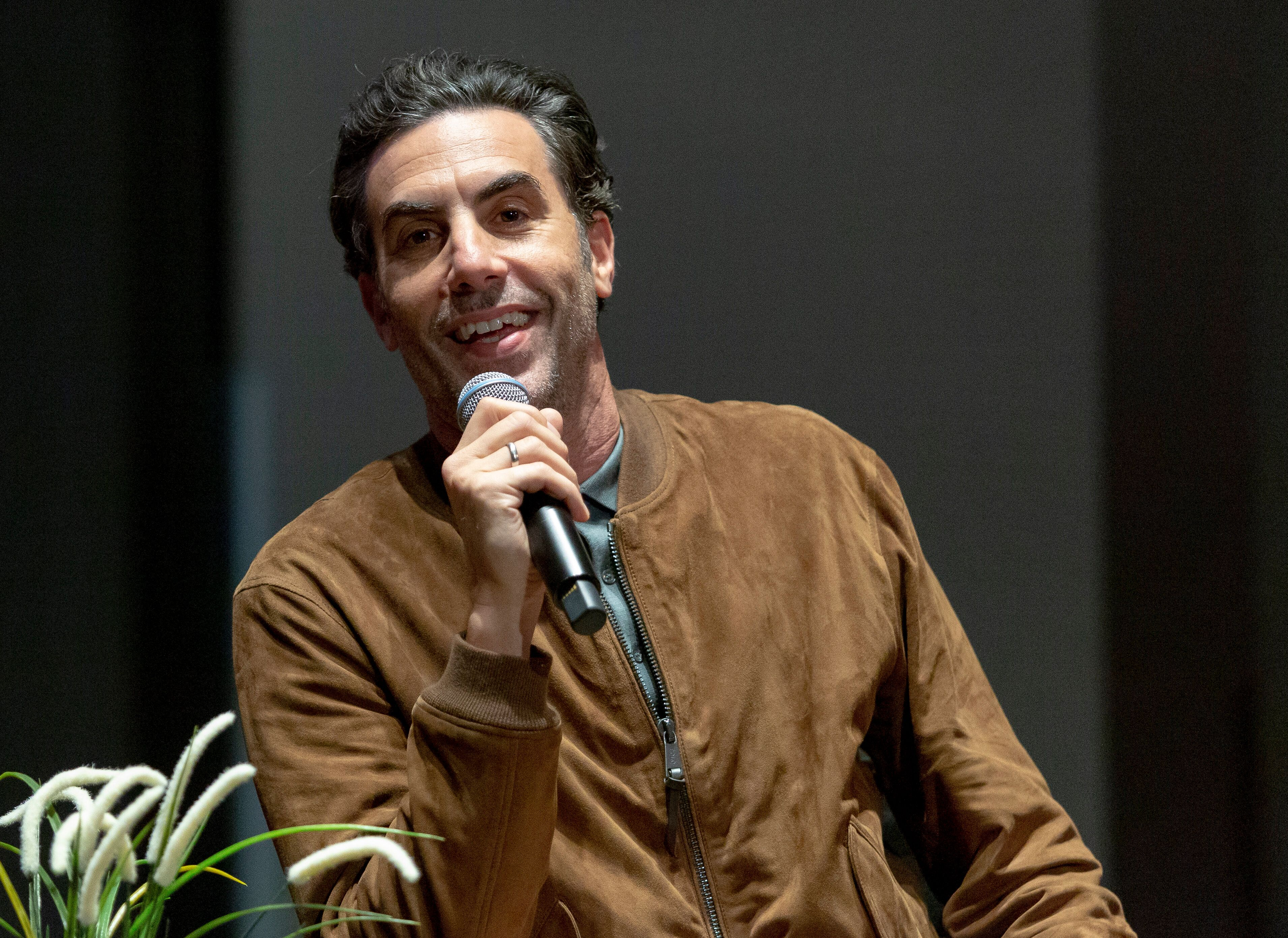"""LOS ANGELES, CALIFORNIA - MAY 21: Actor Sacha Baron Cohen attends SAG-AFTRA Foundation Conversations with """"Who Is America"""" at SAG-AFTRA Foundation Screening Room on May 21, 2019 in Los Angeles, California. (Photo by Vincent Sandoval/Getty Images)"""