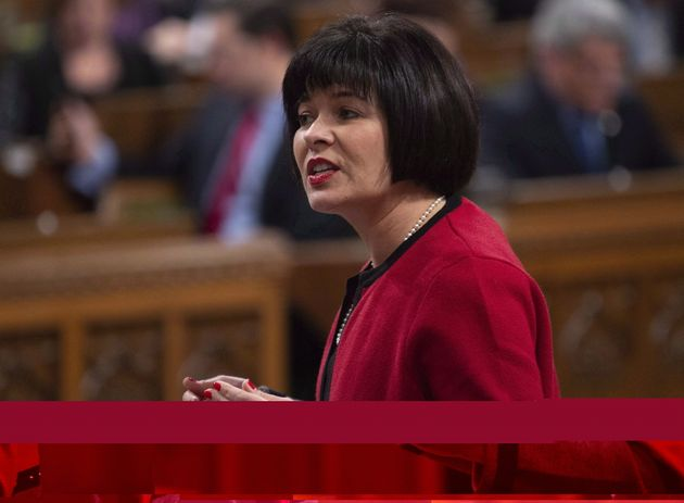 Health Minister Ginette Petitpas Taylor speaks in the House of Commons during question period on Dec. 11, 2018.