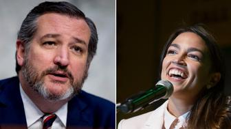 Ted Cruz/ Alexandria Ocasio-Cortez