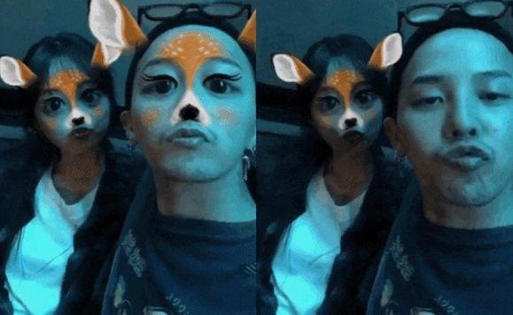 이주연 측이 '급하게 삭제된' 지드래곤과의 영상에 대해 밝힌