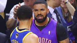 People Had A Lot To Say About How Drake Trolled Steph Curry At The NBA