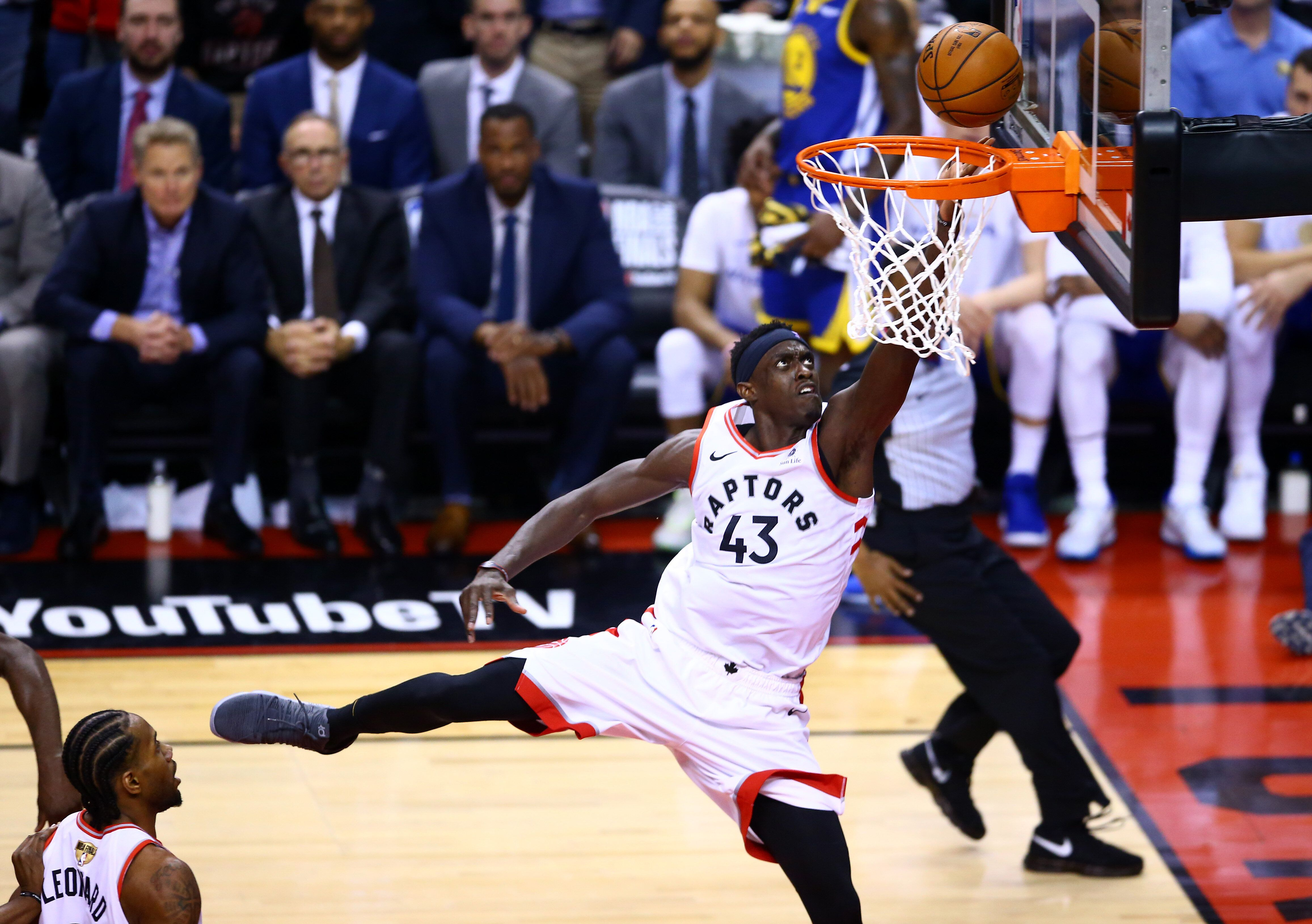 Paskal Siakam was dominant in his NBA Finals debut. (Getty)
