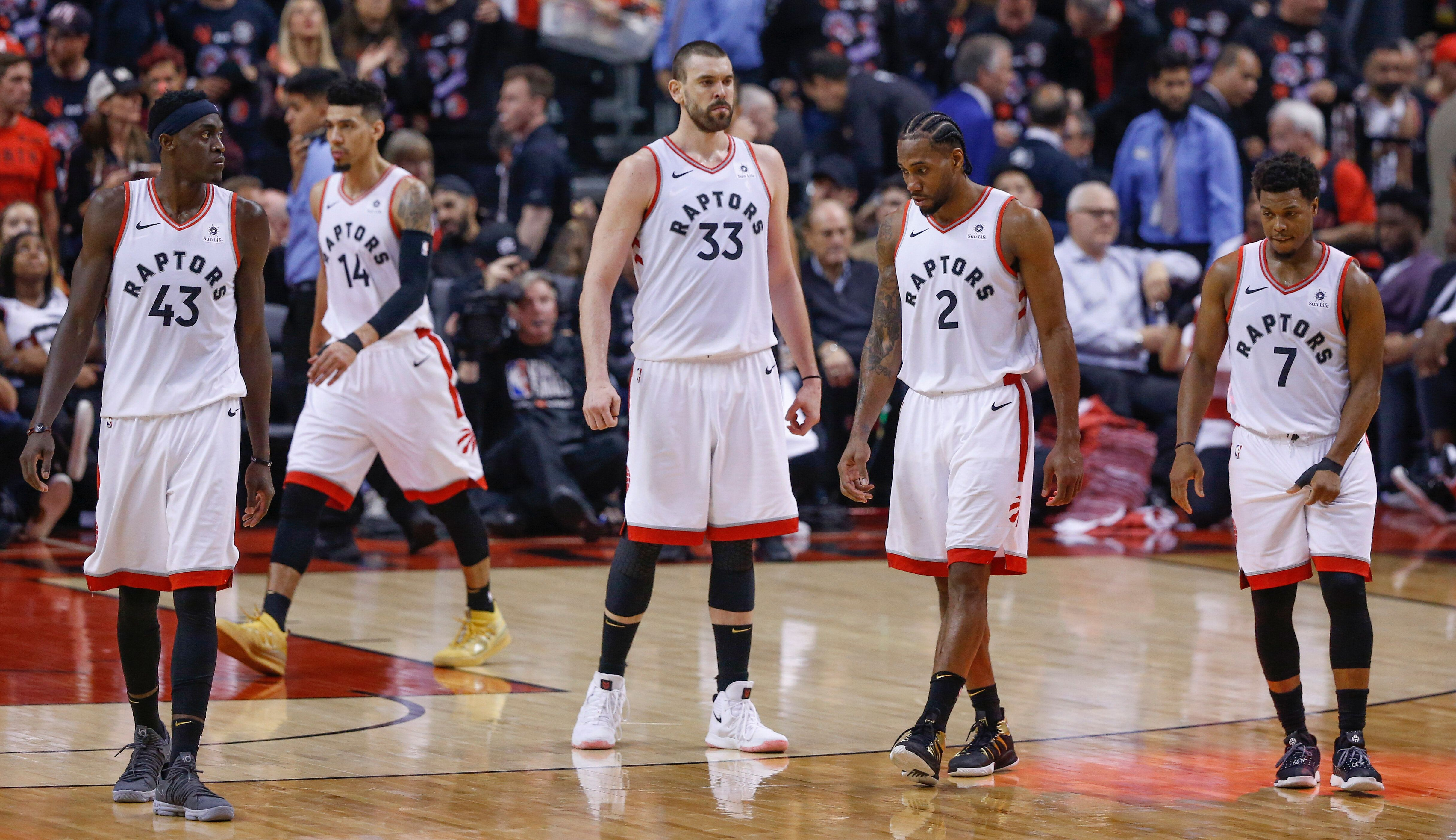 Paskal Siakam led the way, but it was a true team effort in the Raptors' Game 1 win. (Getty)