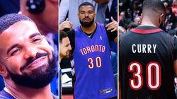 Pendant le 1er match des finales NBA, Drake n'a pas arrêté de