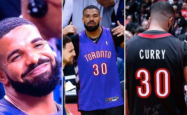Drake est le plus grand fan de l'équipe des Toronto Raptors, qui disputent leurs premières...