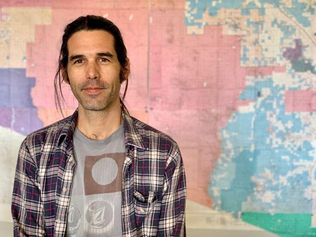 Scott Warren, en una imagen de abril