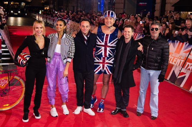 Amanda and the rest of the BGT