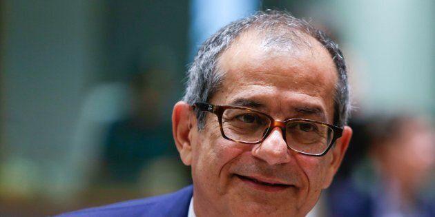 Il ministro dell'Economia Giovanni Tria: