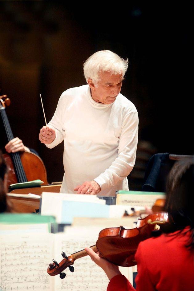 Ο κορυφαίος Βλαντίμιρ Ασκενάζυ στο πόντιουμ της Κρατικής Ορχήστρας