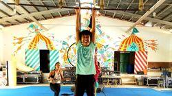 Un cofondateur du Cirque du Soleil soutient des enfants au