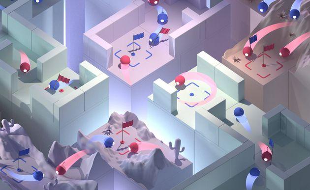 Contre des humains, les robots ont remporté 75% des parties à Quake III Arena, un jeu de...
