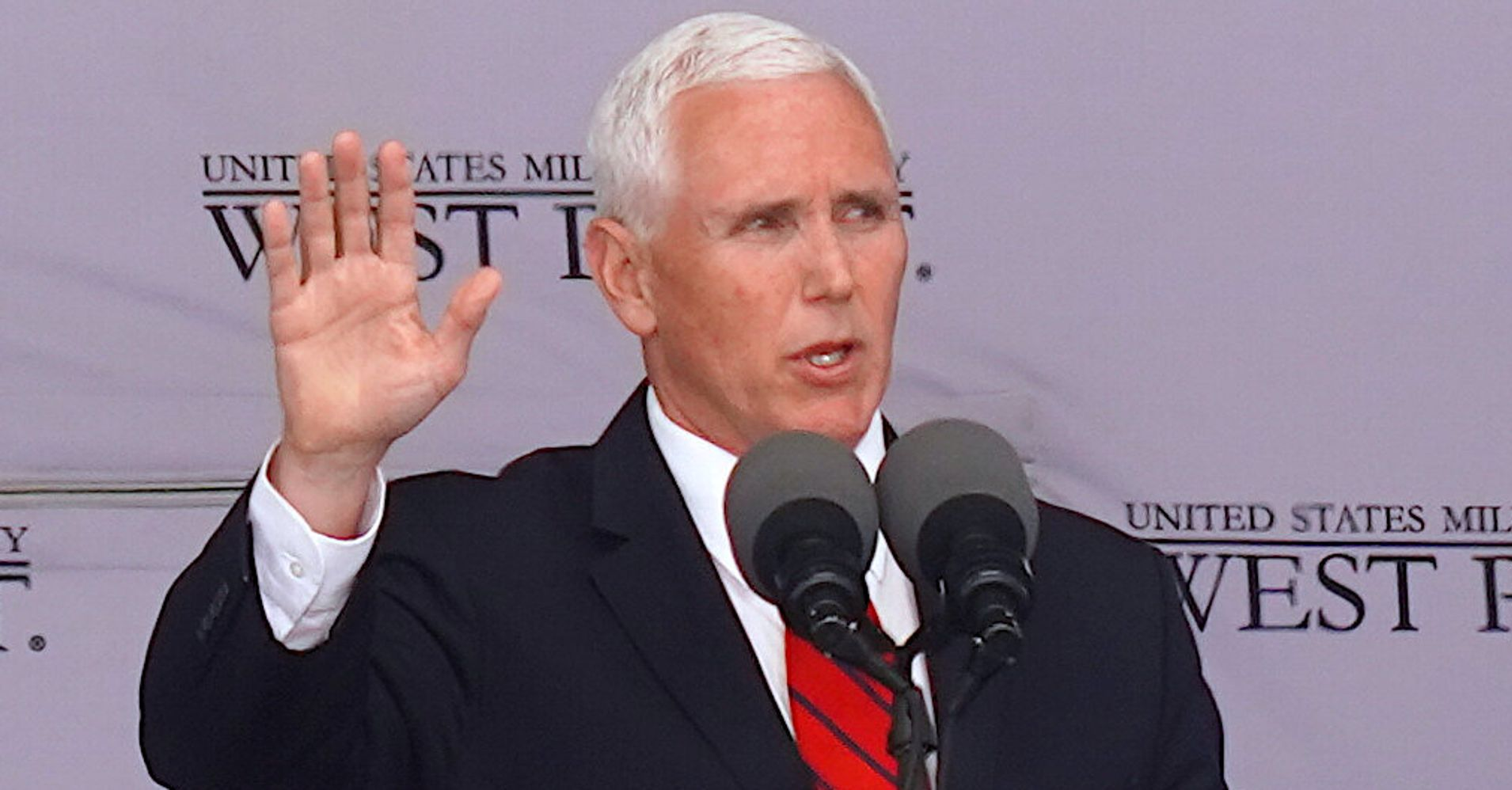 I'm A Veteran's Wife. Here's Why I Protested Mike Pence At