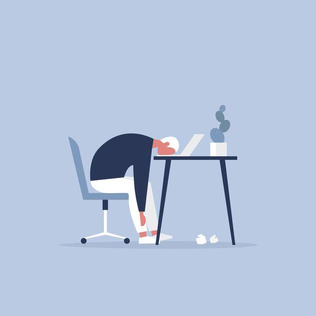 'Burn-out': El síndrome de estar quemado en el trabajo, ¿una verdadera
