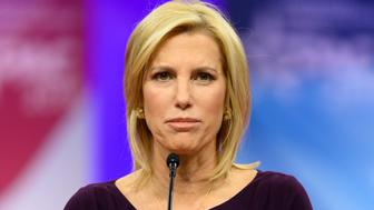 OXON HILL, MD, UNITED STATES - 2019/02/28: Laura Ingraham, host of The Ingraham Angle on Fox News Channel, seen speaking during the American Conservative Union's Conservative Political Action Conference (CPAC) at the Gaylord National Resort & Convention Center in Oxon Hill, MD. (Photo by Michael Brochstein/SOPA Images/LightRocket via Getty Images)