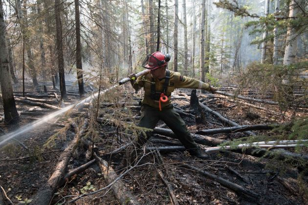 Alberta is fighting to contain several large fires, including a massive one near High