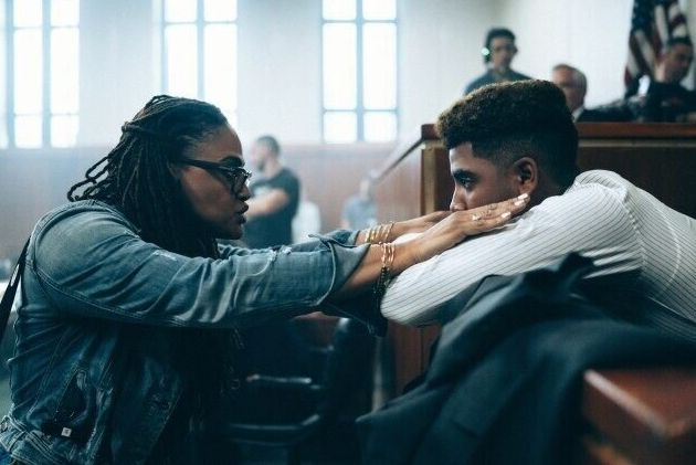 "Ava DuVernay directs Jharrel Jerome, who plays Korey Wise in ""When They See Us."""