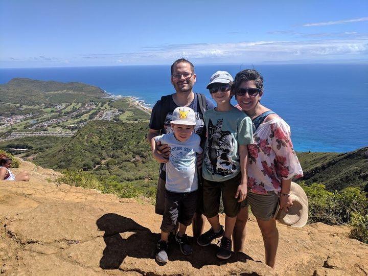 Patricia Estephan a réalisé son rêve d'aller à Hawaï avec son mari et leurs deux enfants, en mars dernier.