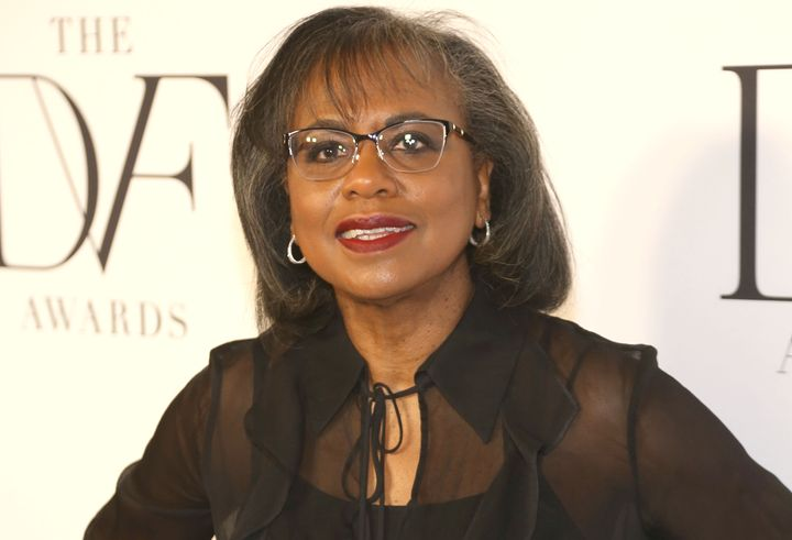 Anita Hill brought up the Me Too movement during a commencement speech at Wellesley College on Friday.