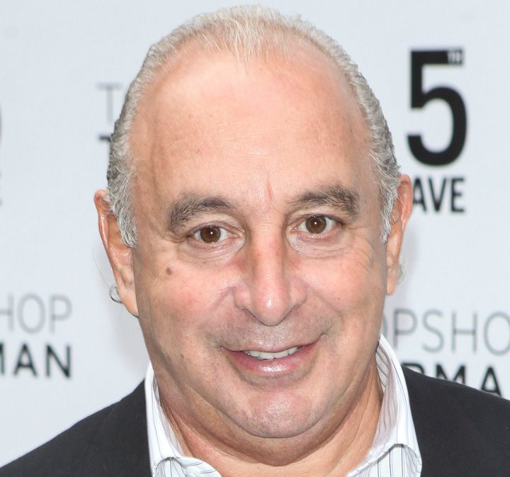 Topshop Founder Sir Philip Green at an event in New York City in 2014.
