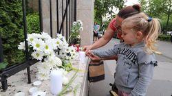 헝가리 시민들이 다뉴브강 참사에 애도를
