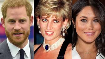 Diana, Harry and Meghan