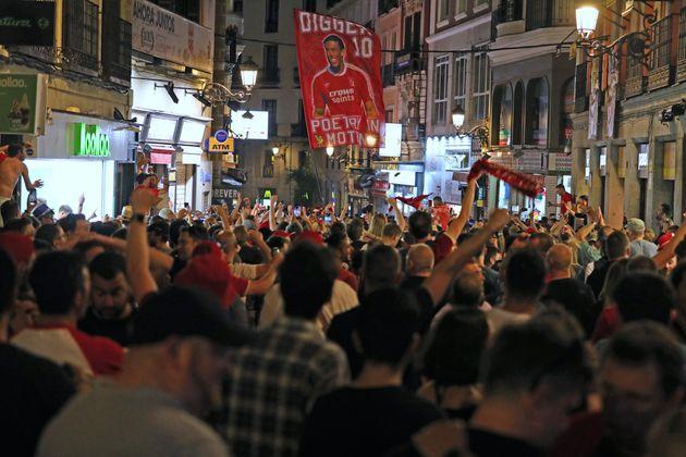 Madrid festive et vigilante pour la finale