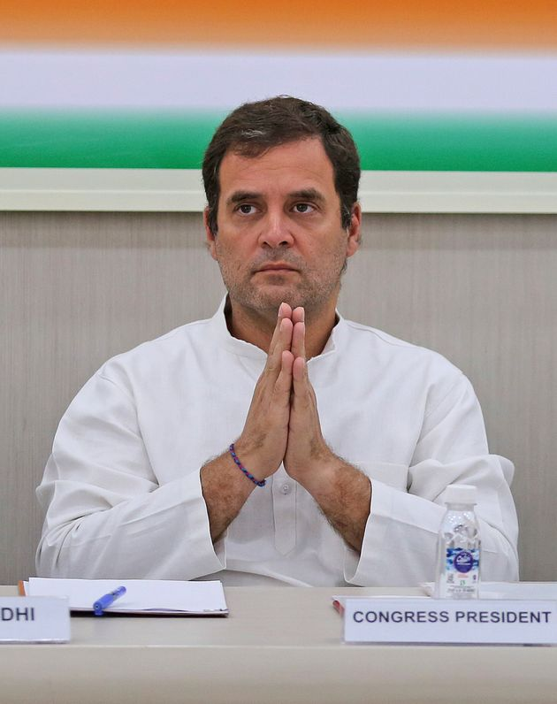 former Congress President Rahul Gandhi in a file