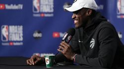 Ce joueur des Raptors n'allait pas terminer sa conférence de presse sans