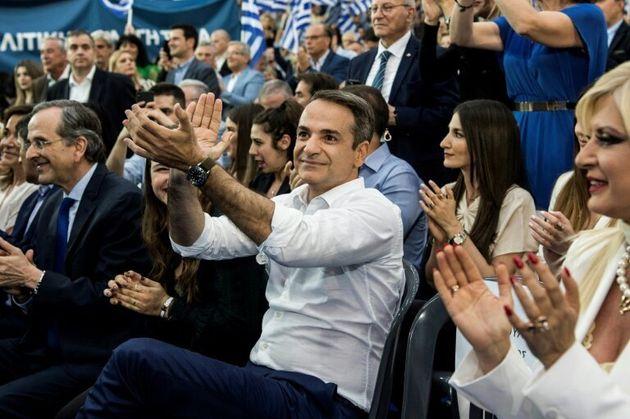 El líder del partido conservador griego Nueva Democracia (ND), Kyriakos