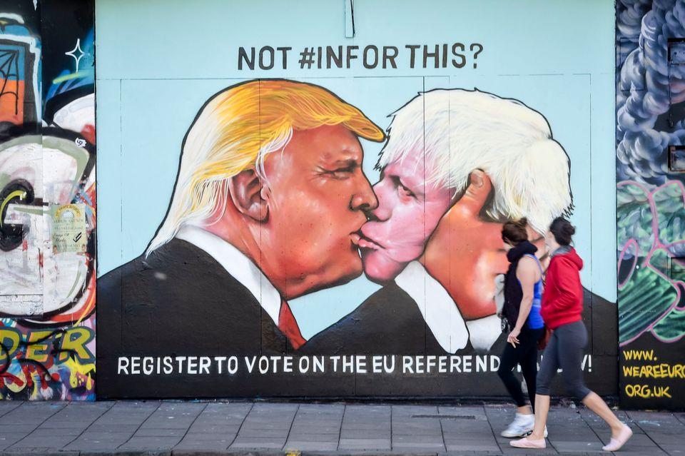 The Donald Trump And Boris Johnson Show: UK And US Braced