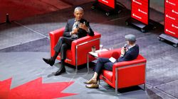 Obama Tells Canadian Crowd He's Worried About 'Deepfake'