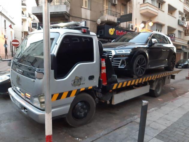 """Arrestation de 12 chauffards qui simulaient des """"rallyes"""" sur la"""