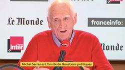 Ce que disait Michel Serres lors de sa dernière intervention