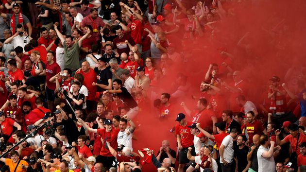 Liverpool Fans Party Into The Night After Historic Champions League