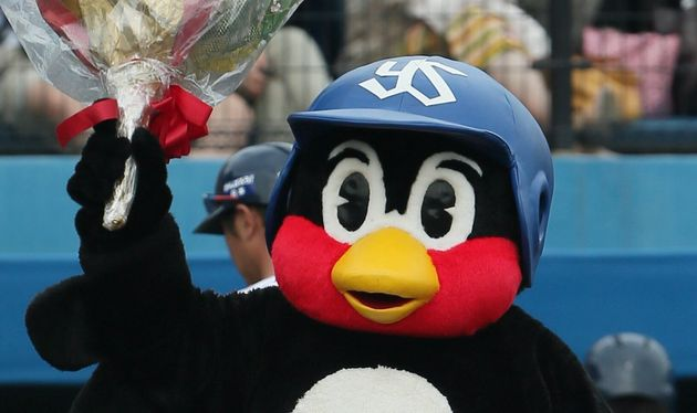 つば九郎(2015年6月27日撮影)