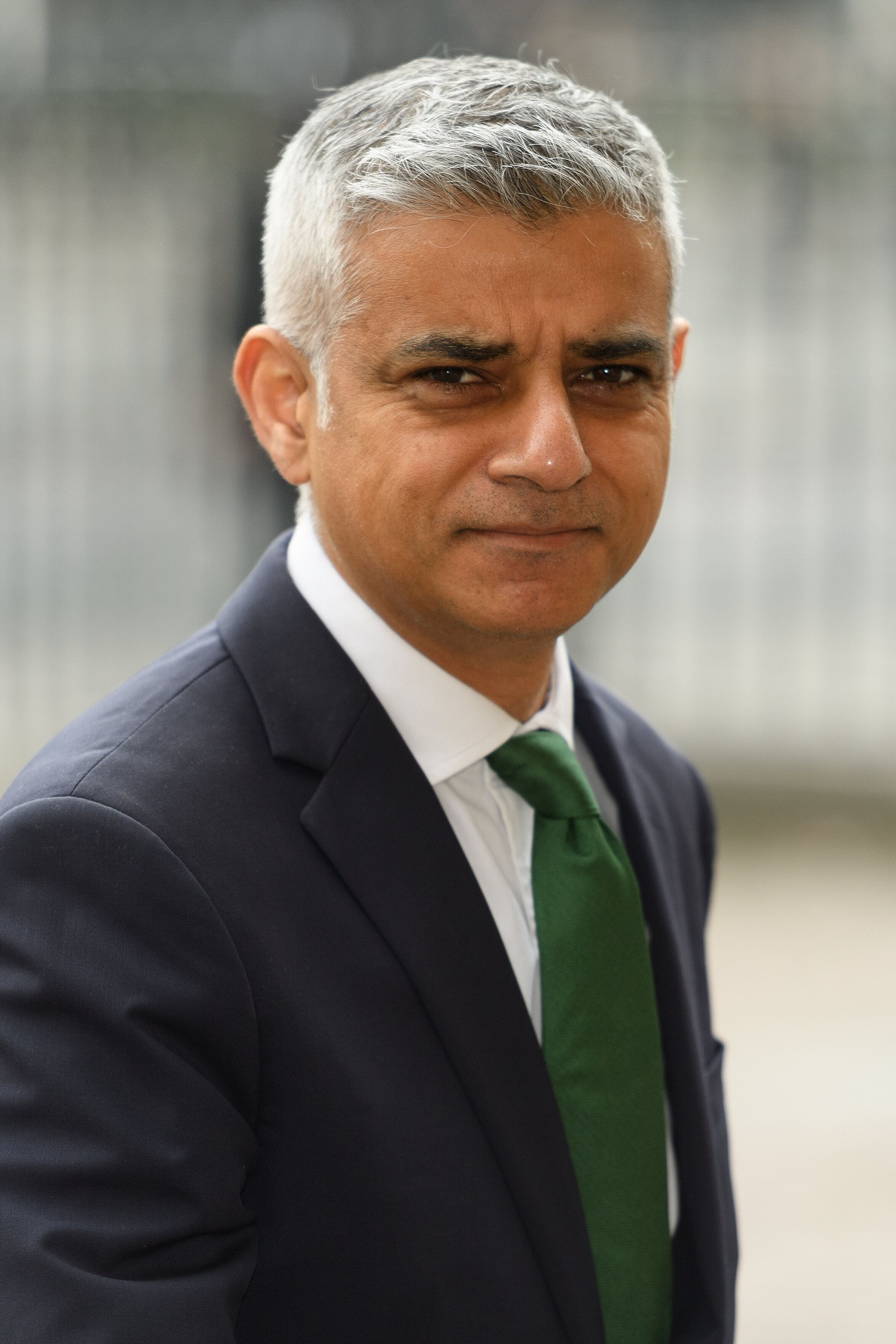 LONDON, ENGLAND - MAY 17: Mayor of London Sadiq Khan arrives at Westminster Abbey, ahead of a special service to mark 100 years since women joined the force, on May 17, 2019 in London, England. The Met has been celebrating the history of the role of women in the force with commemorative events, which culminated in the service at Westminster Abbey that mirrored an event that took place a century ago when a group of female officers appeared in uniform for the first time.  (Photo by Leon Neal/Getty Images)