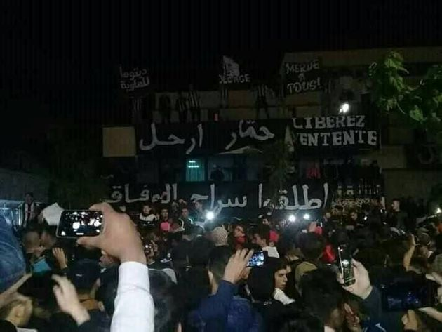 Les supporters à l'heure du ''hirak''