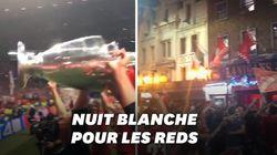 Joueurs et supporters de Liverpool ont fêté leur Ligue des Champions toute la