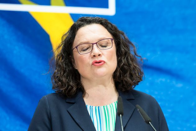 Andrea Nahles lascia la presidenza della Spd in